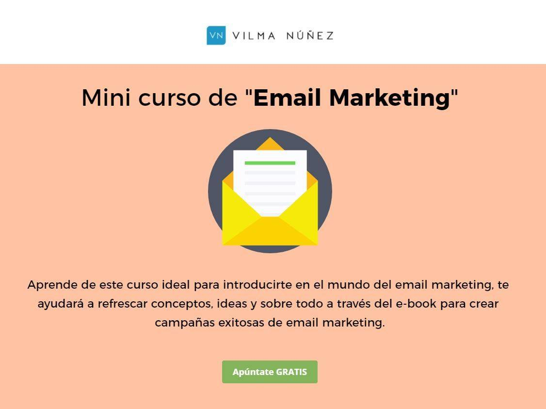 Cursos Gratis para aprender Email Marketing: vilmanunez.com