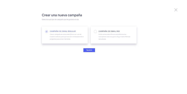 ¿Cómo hacer una newsletter con Benchmark? - Crear Campaña Benchmark