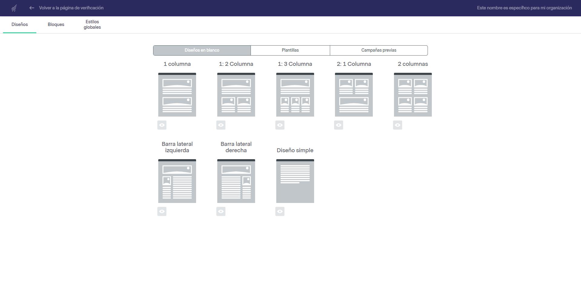 ¿Cómo hacer una newsletter con Benchmark? - DISEÑO