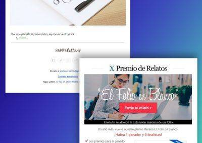 Ejemplos de Email Marketing